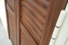 Rifinitura della Verniciatura Effetto legno