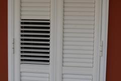 Balcone a lamelle semi Aperte